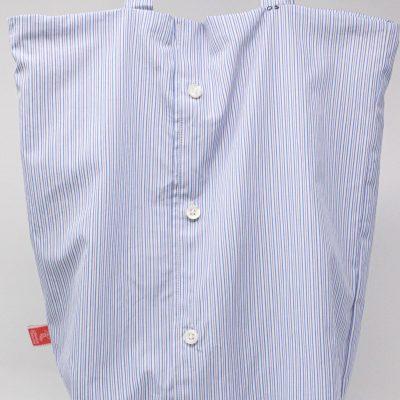 Sac chemise boutonnée Bérénice upcycling