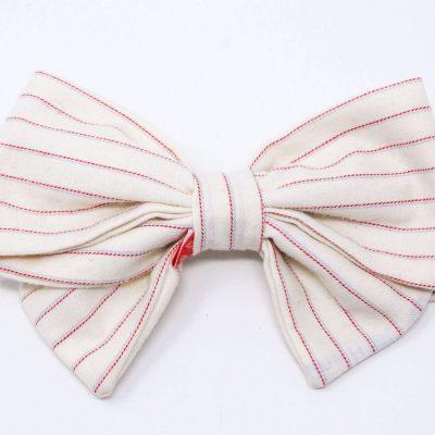 barrette chemise coton Bérénice upcycling recto